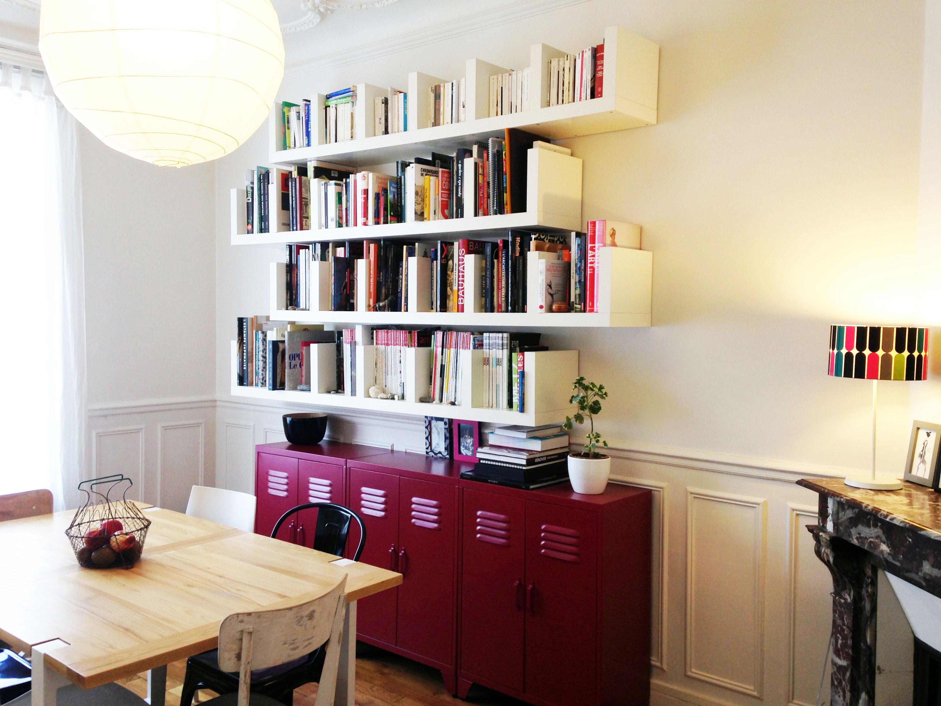 100 Fantastique Suggestions Bibliothèque Dans Salle À Manger