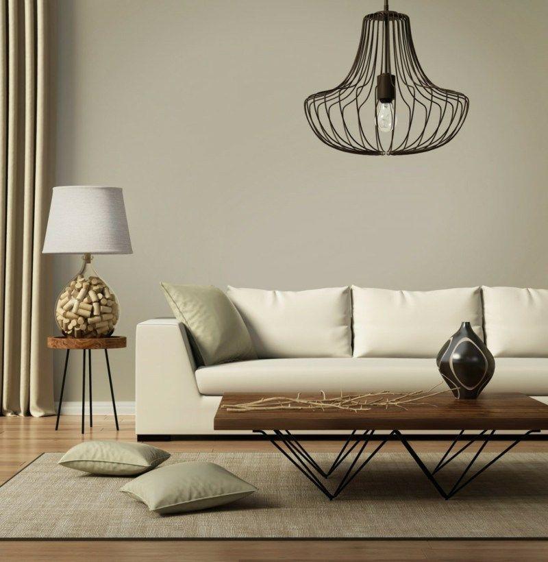 Fesselnd Skandinavisch Wohnen Wohnzimmer Lampe