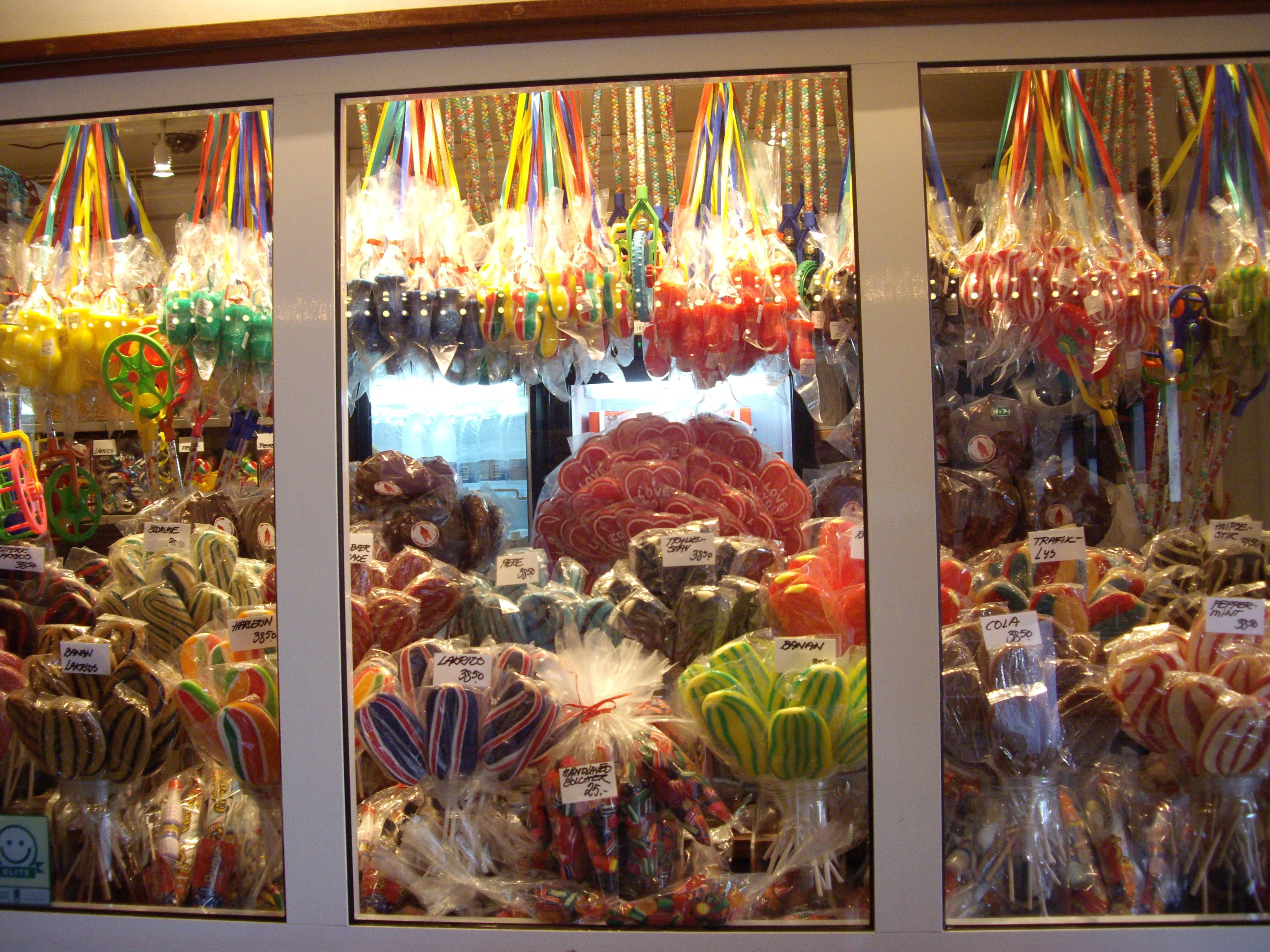 Tivoli Denmark Shop Danes Are Very Serious About Their Hard Candy As Seen In This