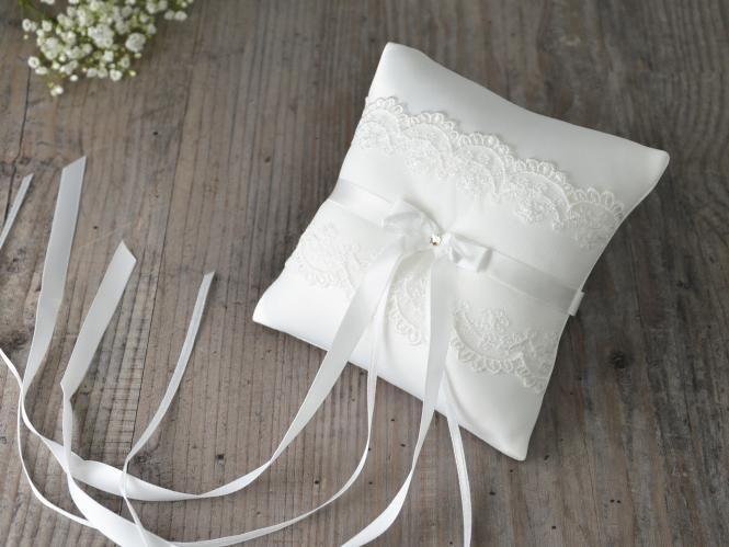 ringkissen mit spitze 27 90 hochzeit pinterest. Black Bedroom Furniture Sets. Home Design Ideas