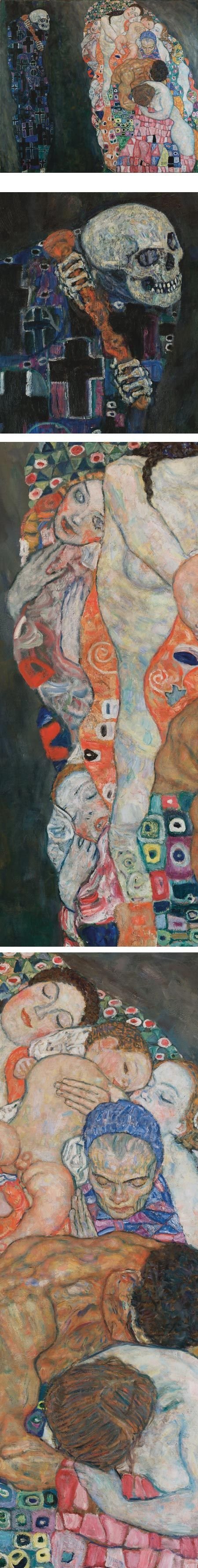 Death and Life, Gustav Klimt