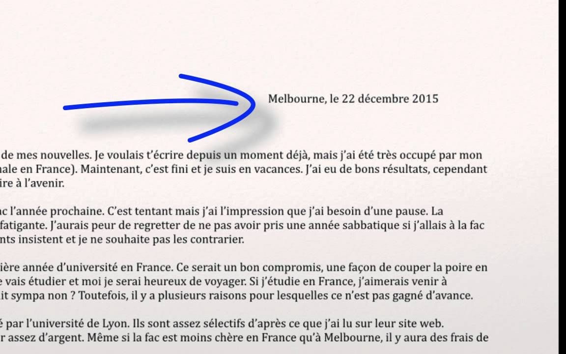 writing a letter in french writing an informal letter personal writing vce 11135 | 74d986c9560b8da5eb6d6845dab58003