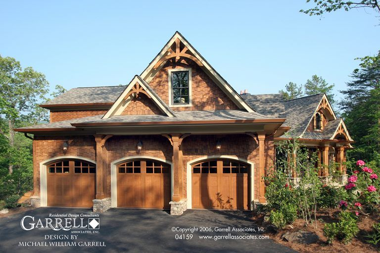 Tranquility 04159 Rustic House Plans Cottage House Plans Craftsman Style House Plans