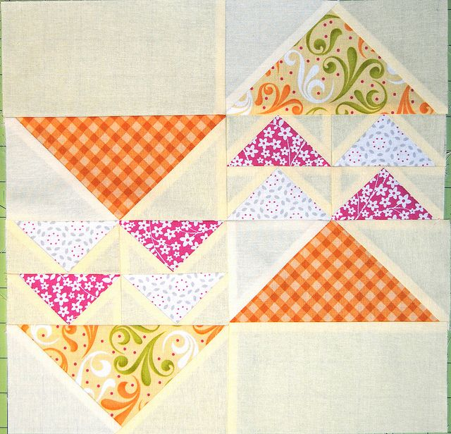 Pattern Modern Leader Follow Quilt