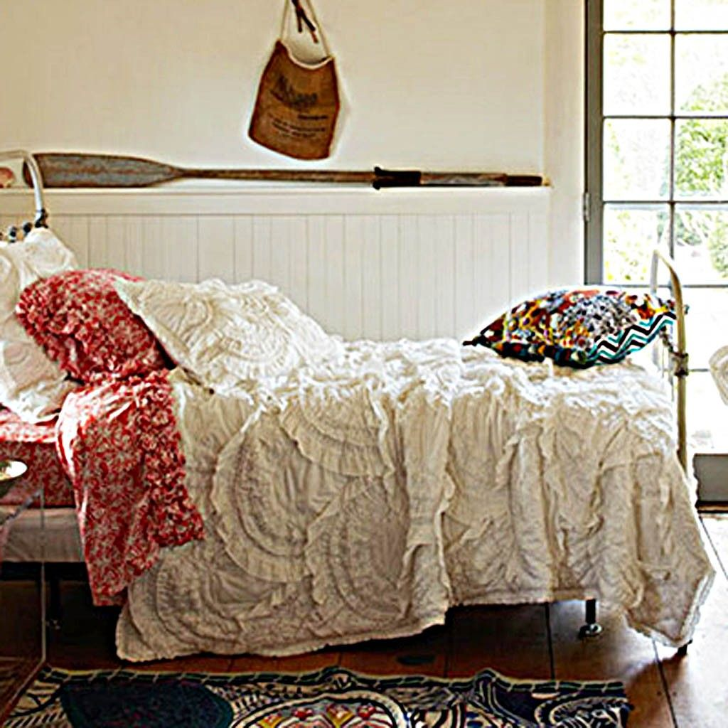Anthropologie Rivulets Quilt Anthropologie Bedding Anthropologie Bedroom Bed