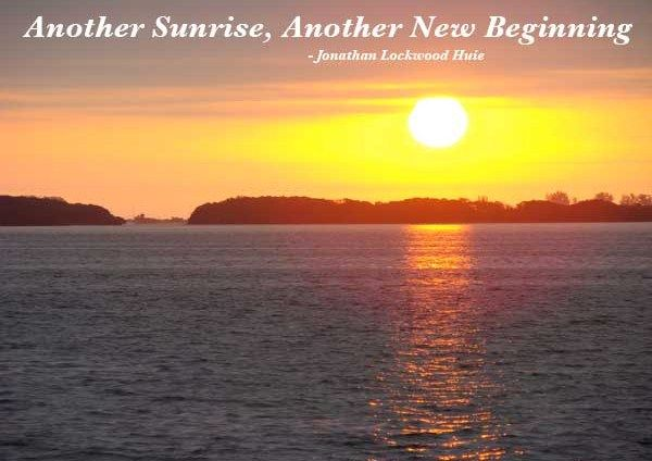 Cs Lewis Quotes New Beginning: Another Sunrise, Another New Beginning