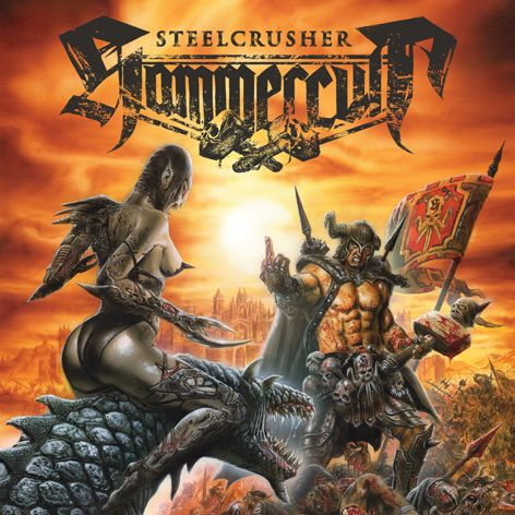 """HAMMERCULT release video for """"Steelcrusher""""!   NEW ALBUM STEELCRUSHER OUT ON SONIC ATTACK/SPV  Release Date: 27 January 2014"""