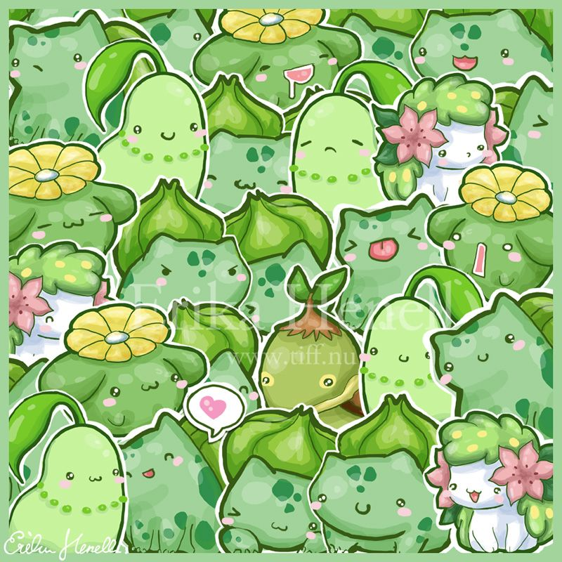 Flower Power Pokemon by