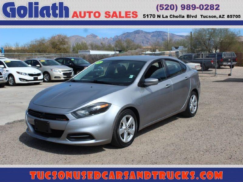 2015 Dodge Dart 4dr Sdn Sxt Goliath Auto Sales Llc Dealership In Tucson In 2020 Car Dealership Cars For Sale 2015 Dodge Dart