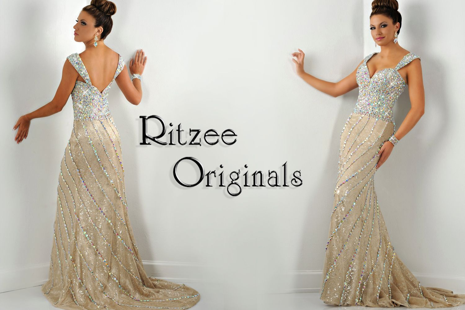 Style 2449   My Ritzee gowns   Pinterest   Dream dress, Formal and Crown