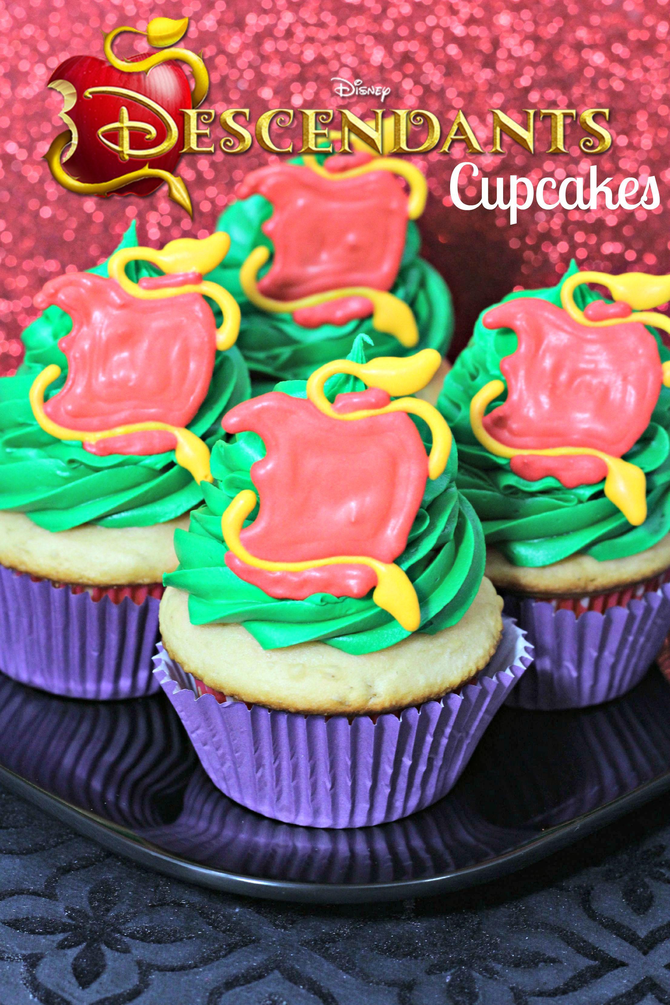 disney's descendants cupcakes - HD2212×3318