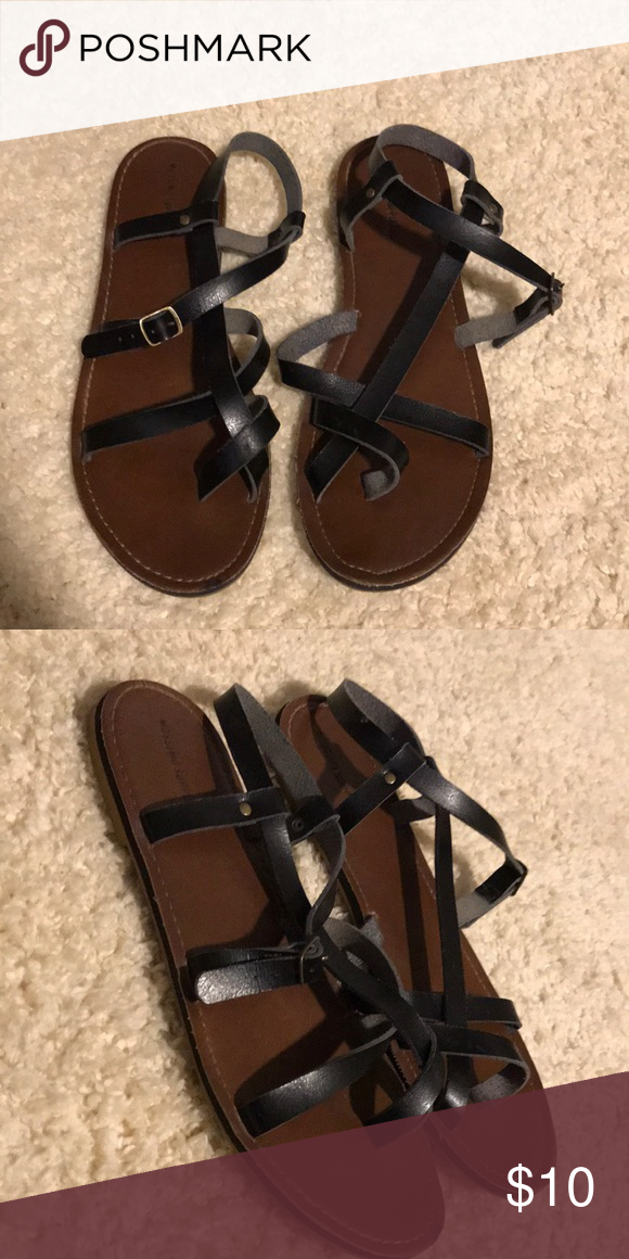 7935e549cb0f09 strappy sandals hardly worn