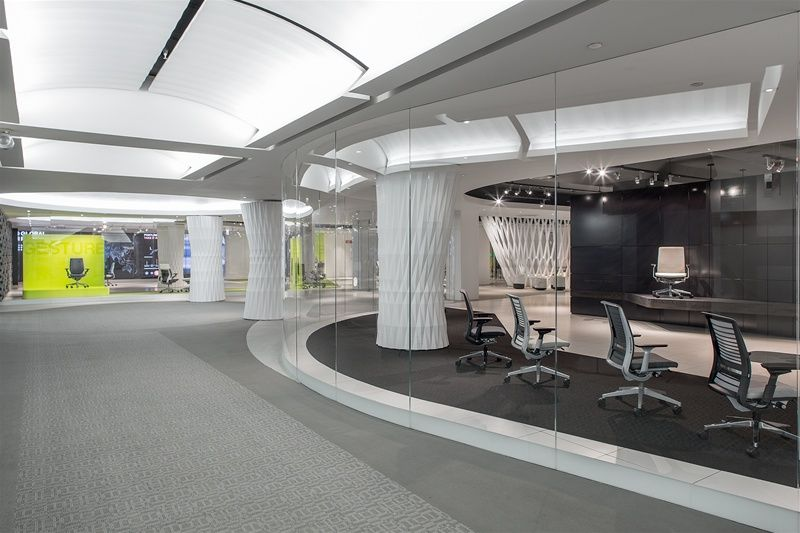 chicago, united states | showroom, chicago and office furniture