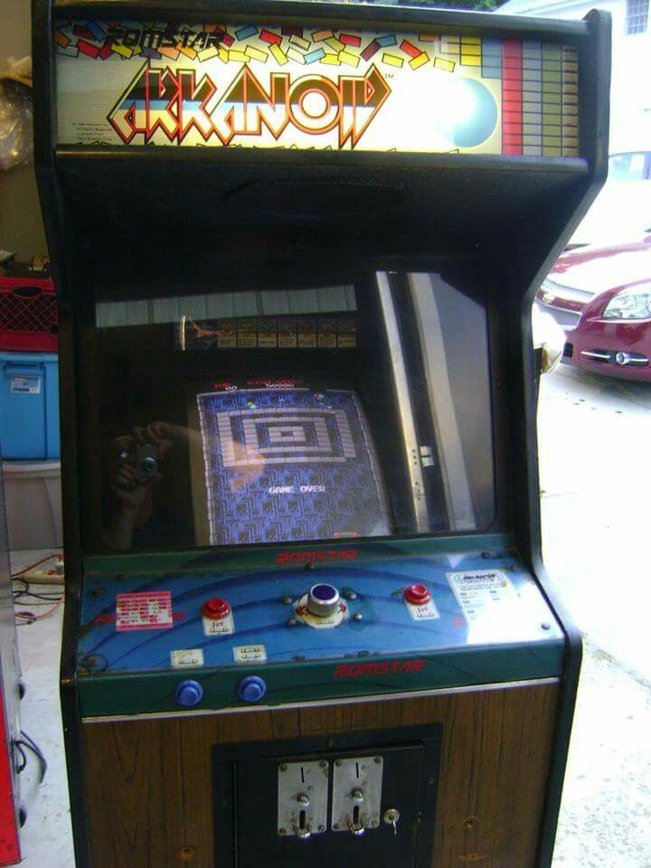 Arkanoid arcade game | Arcade Projects | Pinterest | Arcade and ...
