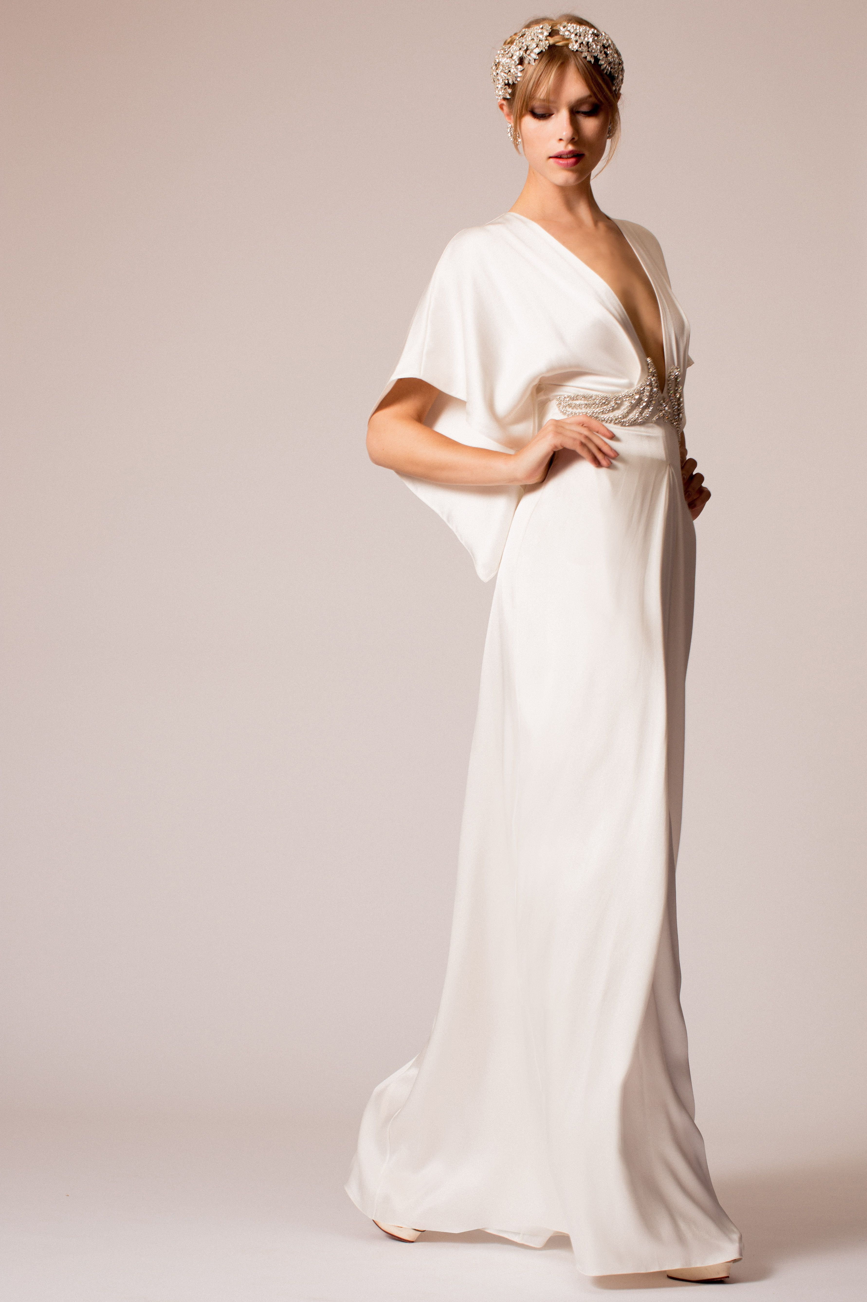9dd072102b0 ... Wedding Dresses for Major Wow Factor. The Temperley Bridal Elodie Dress