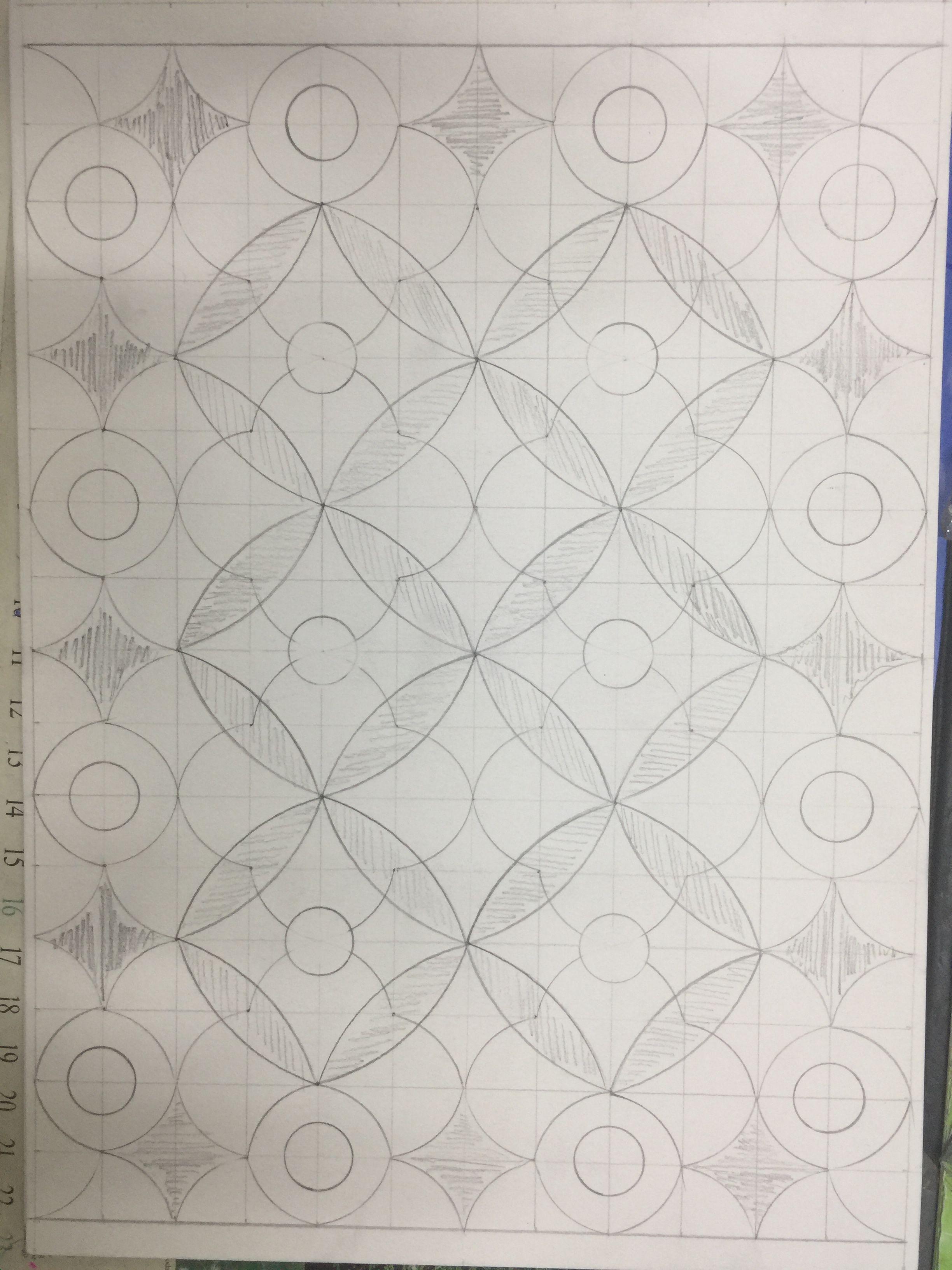 زخارف اشكال هندسية