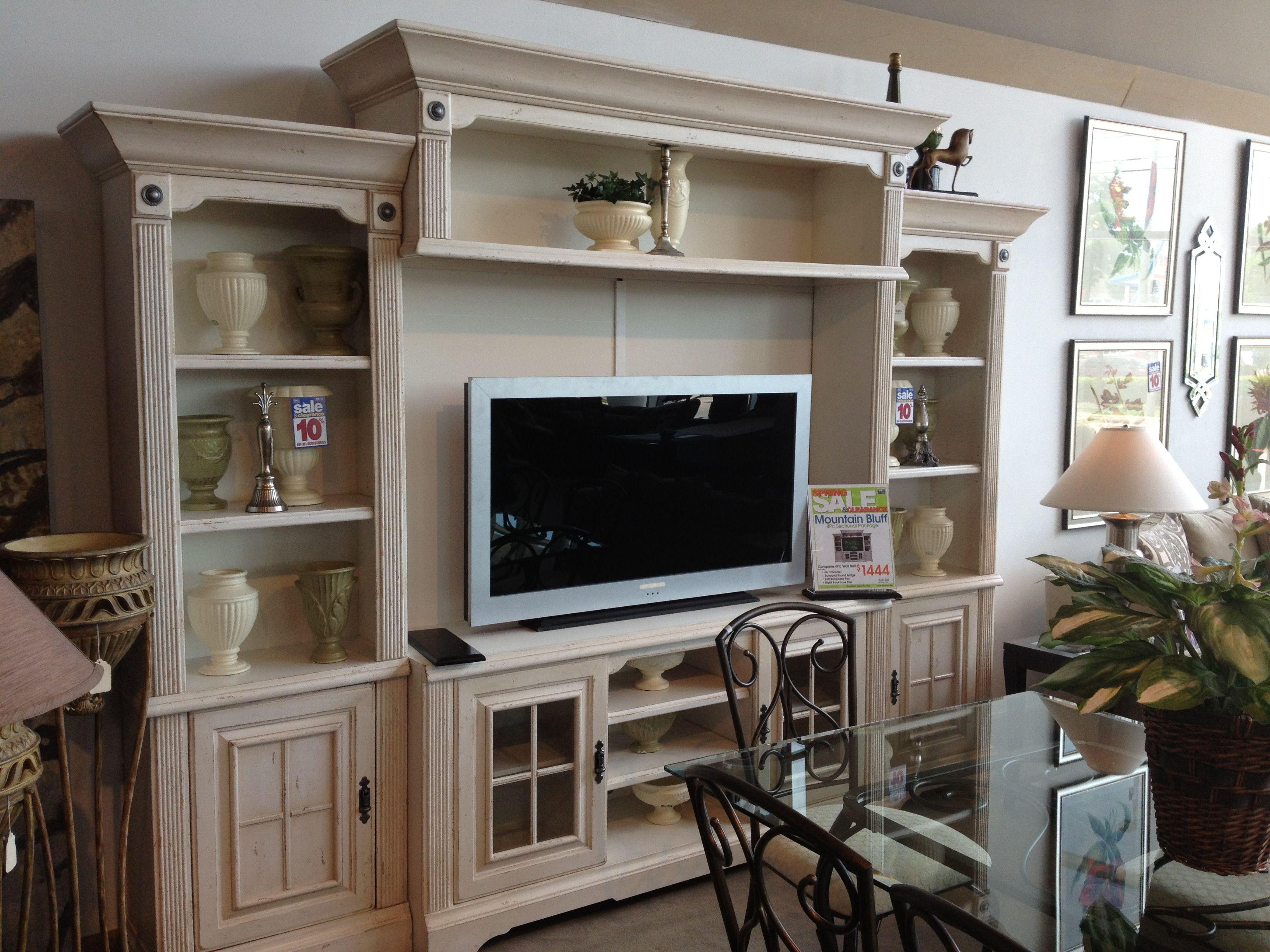 TV wall unit @ Rooms To Go. | New Home Ideas | Pinterest | Tv walls