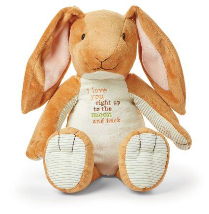 Kids Preferred Guess How Much I Love You: Nutbrown Hare Floppy Bunny Plush