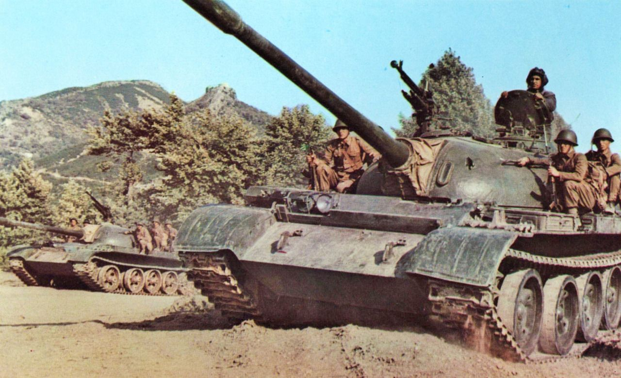 All power to the Soviets! | Military, Albanian people, Tank