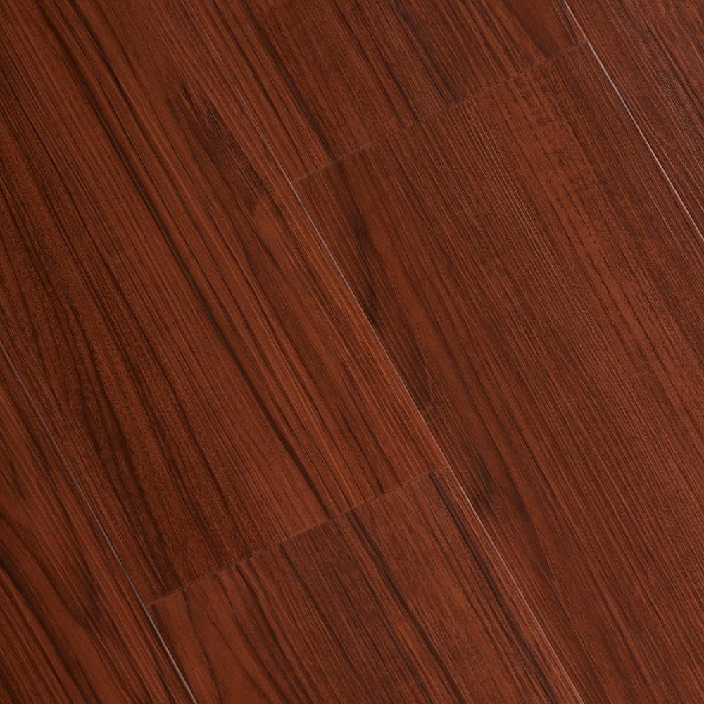 Home Legend Embossed Bamboo Cherry 6 Mm X 7 1 16 In Width X 48 In Length Vinyl Plank Flooring 23 64 Sq Case Hlvp5011 C The Home Depot Vinyl Plank Flooring Wide Plank Hardwood Floors Plank Flooring