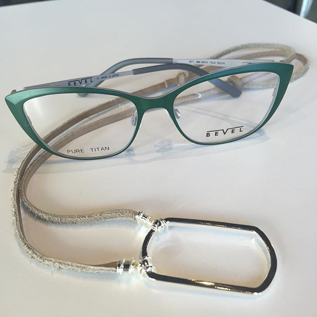 New Bevel Specs titanium frames are in store! We\'ve paired this ...