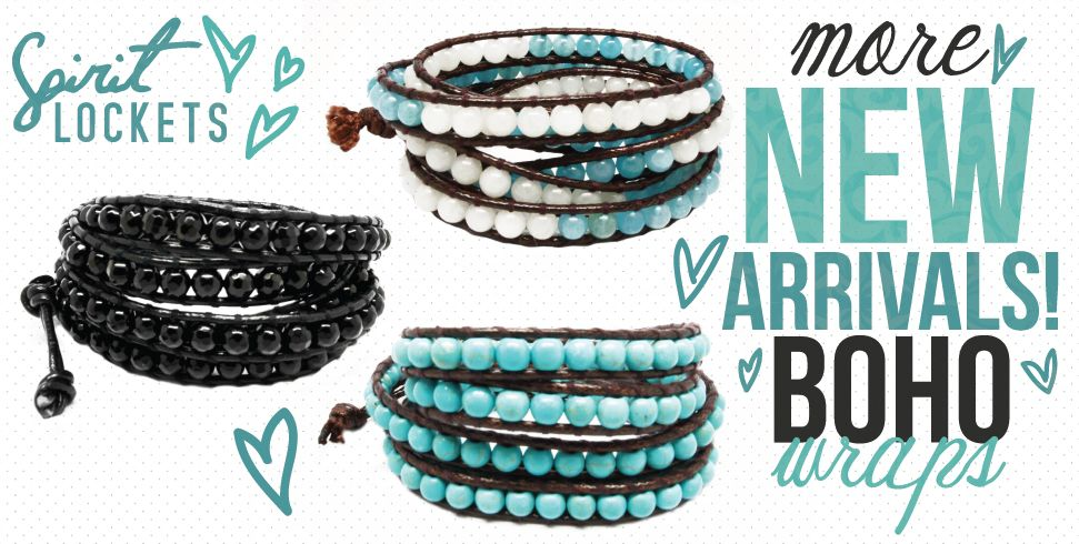 check out these new boho bracelets! Love them www.spiritlockets.com/#hhappeny