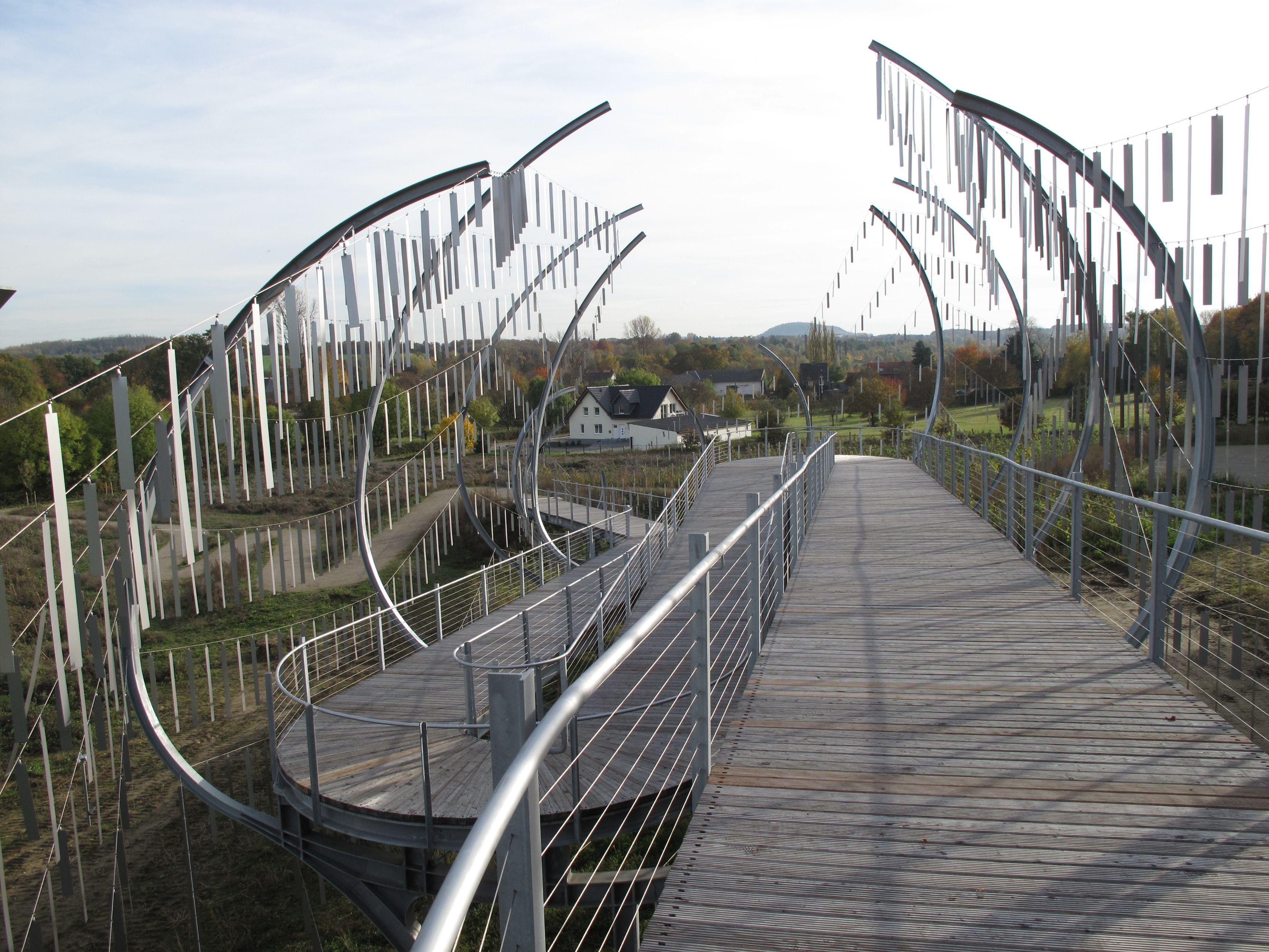 nox - wind chimes bridge | Awesome architecture | Pinterest | Bridge