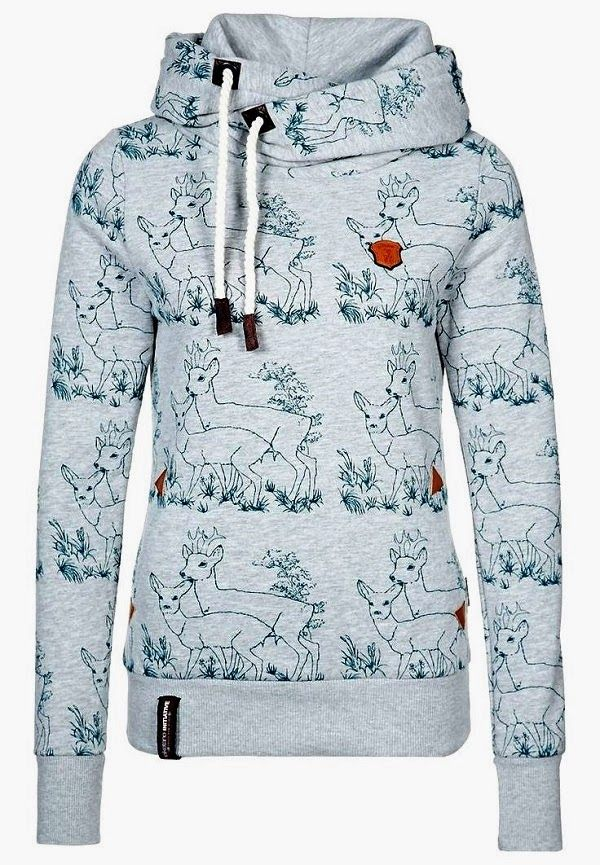 Naketano Deer Print Hoodie This is getting ridiculous, I