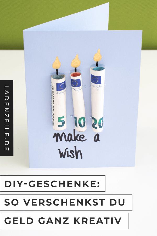 Kreative Ideen für Geldgeschenke