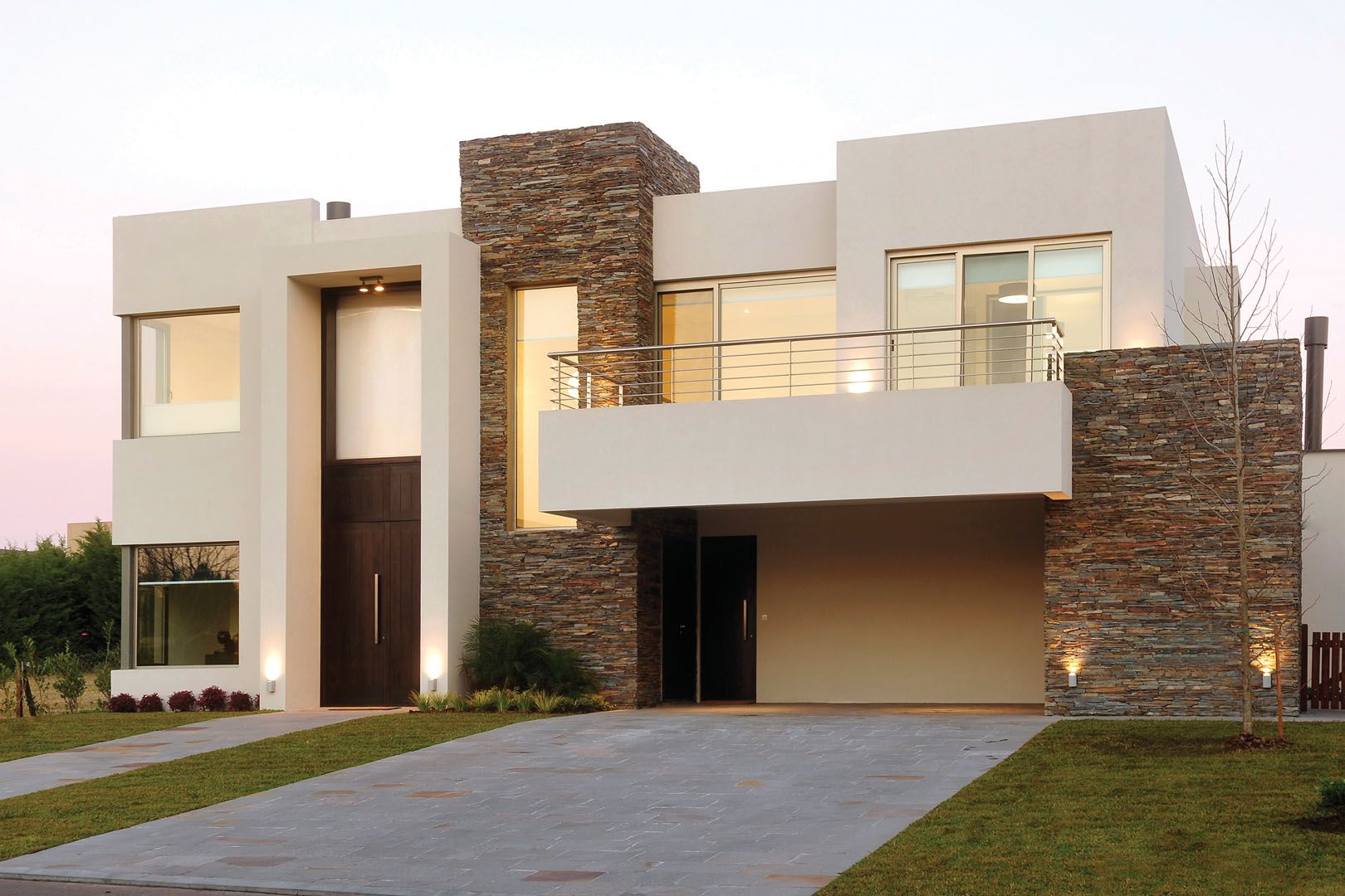Fern ndez borda arquitectura fachadas puertas y piedras Pisos para exteriores de casas modernas