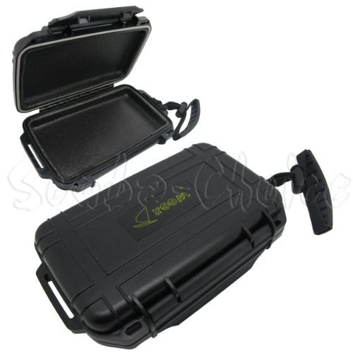 Black Friday Deal Scuba Choice Scuba Diving Dive Waterproof Black Dry Box Case Container with Lanyard from Scuba Choice Cyber Monday