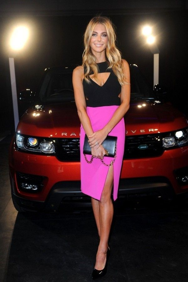 Fabulously Spotted: Jennifer Hawkins Wearing Yeojin Bae - Range Rover Sport Launch Event - http://www.becauseiamfabulous.com/2013/07/jennifer-hawkins-wearing-yeojin-bae-range-rover-sport-launch-event/