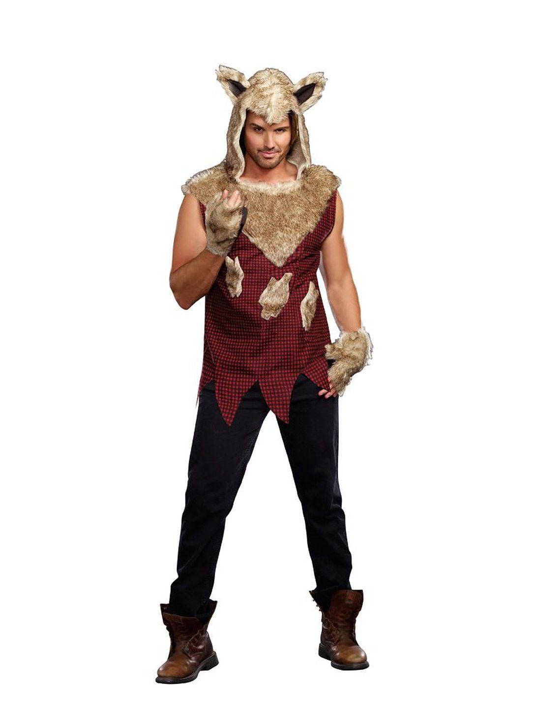 Big Bad Wolf Adult Costume | Big bad wolf, Bad wolf and Big bad ...