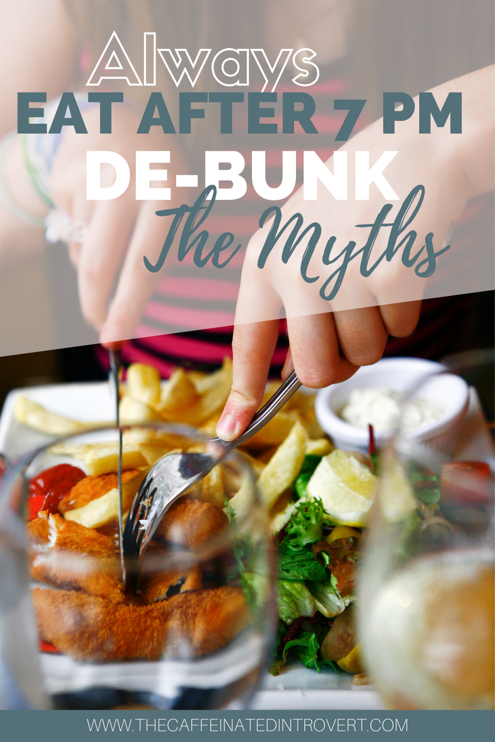 We've been traditionally taught to avoid carbs, have an early dinner, and never eat before bed. But the fact is, the latest scientific research shows us this earlier model is not the most ideal. #debunk #myth #health #alwayseatafter7