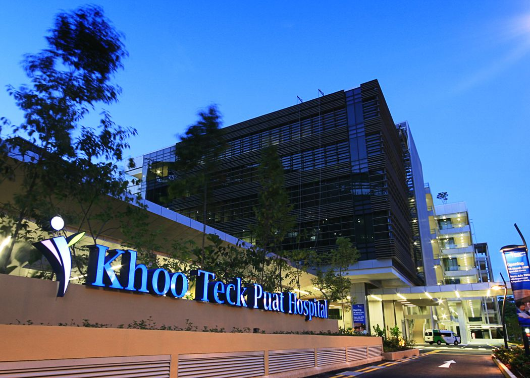 KHOO TECK PUAT HOSPITAL (KTPH) in Singapore received a