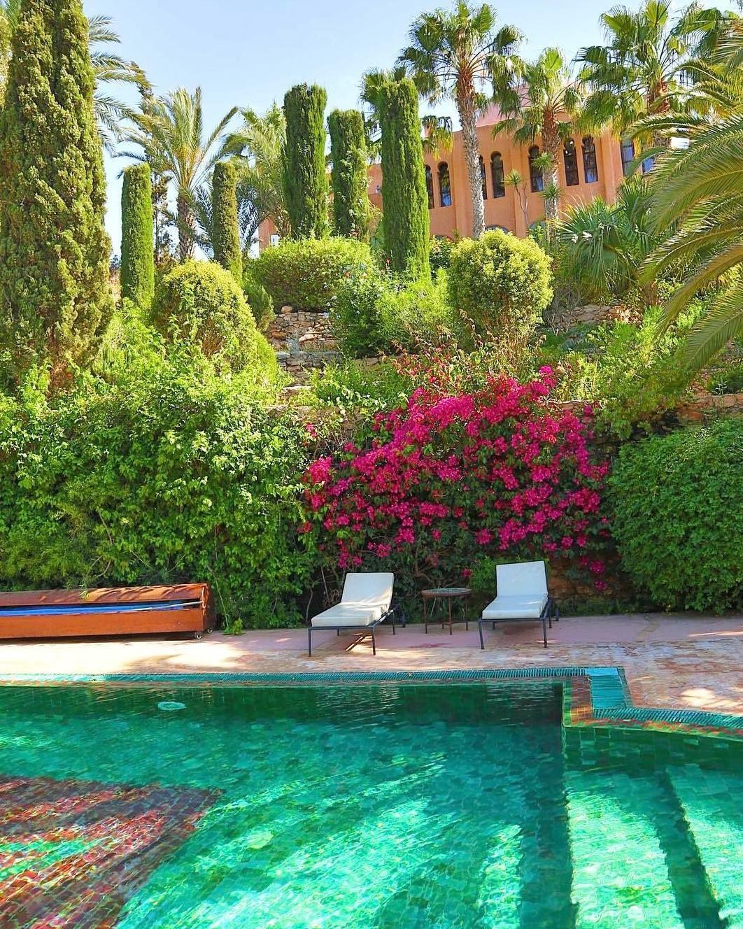 Le Jardin Des Douars Garden Bouganville Essaouira Pool