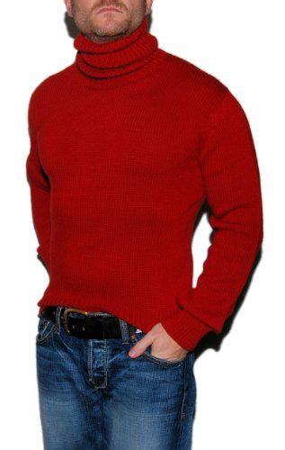 7048d2192 Polo Ralph Lauren Mens Cashmere Wool Turtleneck Sweater Red