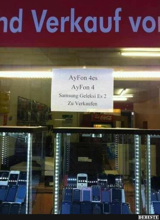 AyFon 4es zu verkaufen.
