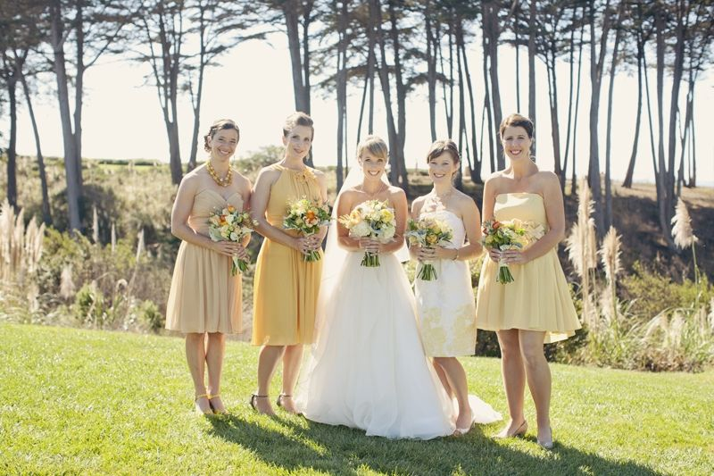 Whimsical Fall Inspired Beach Wedding At The Scenic Seascape Resort
