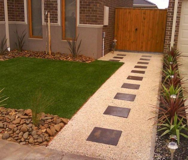 Ideas De Diseño De Jardines Residenciales: Casas Con Antejardin