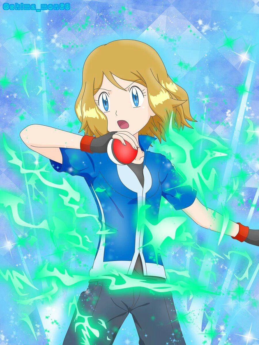Pokemon Serena Render by BloodAkenoArt on DeviantArt