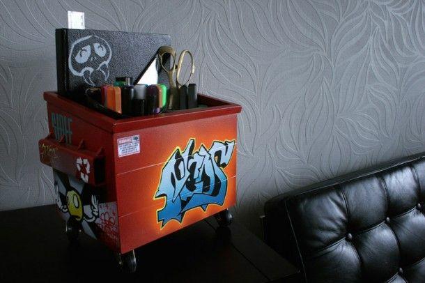 Steelplant – Desktop Dumpsters for graffiti writers
