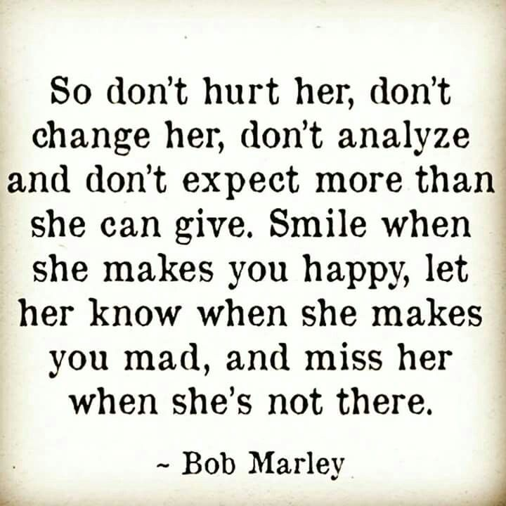 So Don T Hurt Her Bob Marley