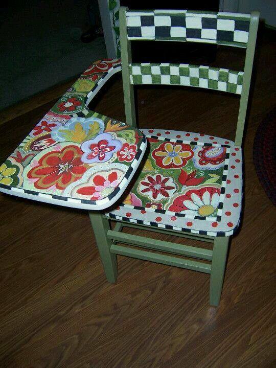 Painted desk ideen m bel sessel und tisch - Ausgefallene kindermobel ...