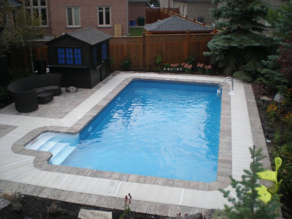 Rectangular In-Ground Pool Kits from $4,499.99 | Swimming ...