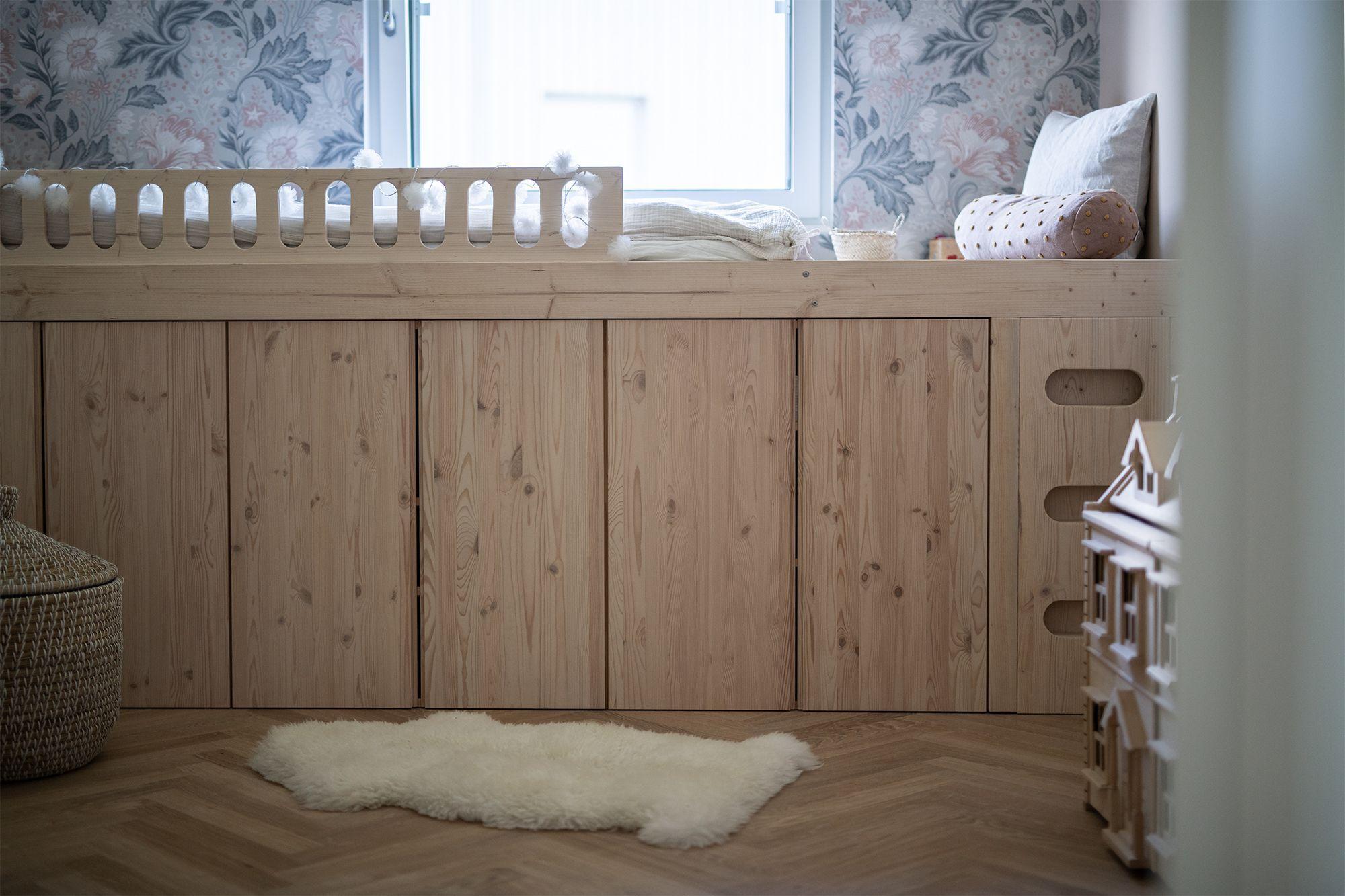 DIY Ein Bett aus IvarSchränken DIY Ein Bett aus Ivar