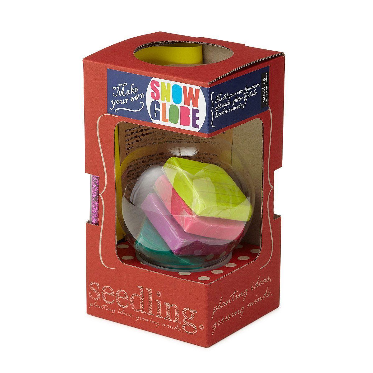 Make Your Own SnowGlobe Kit Snowglobe Craft Kit Craft