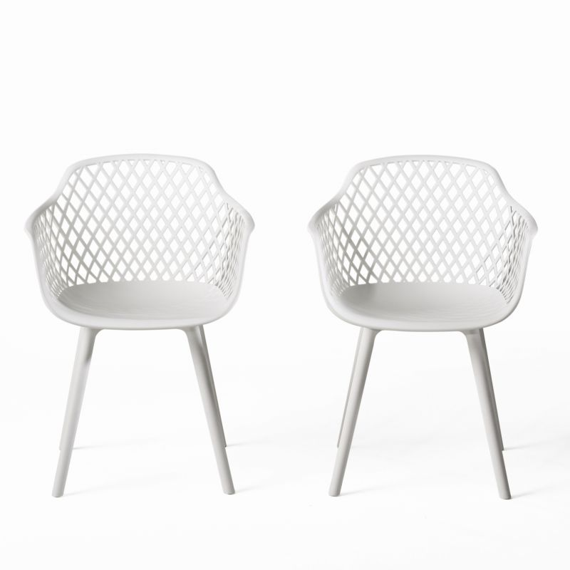 Pin On S, White Patio Dining Chairs