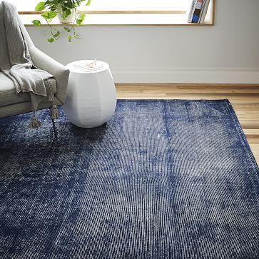 Living Room Bed Rug West Elm Blurred Lines Wool Rug 9 X12 1 329 8 X10 979 6 X9 649 Room Rugs Floor Rugs Modern Area Rugs