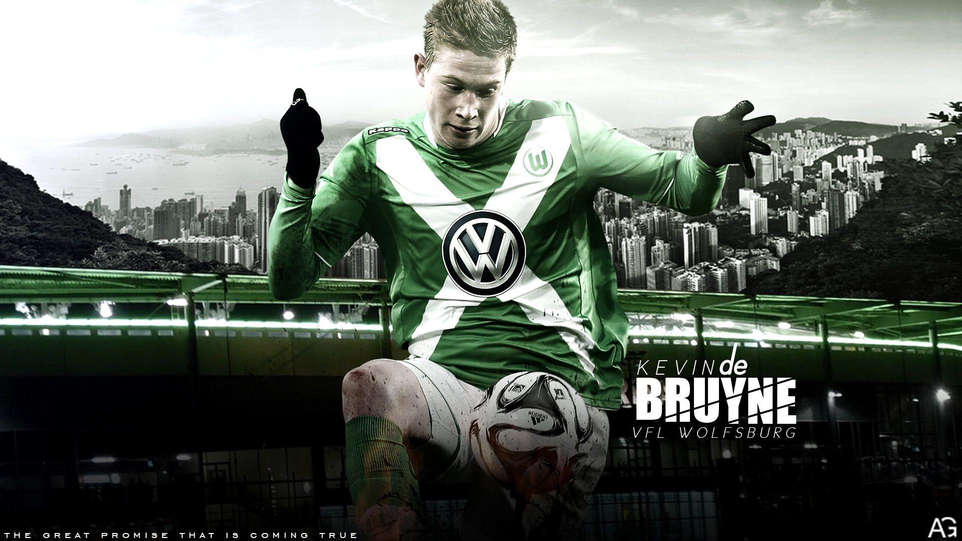 Kevin De Bruyne Wolfsburg 2014/2015 Wallpaper